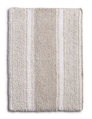 Martha Stewart Reversible Cotton Bath Rug-PLATINUM GREY-17x24