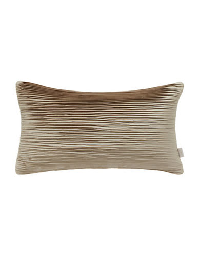 Ted Baker London Frayed Edge Pillow-GOLD-One Size