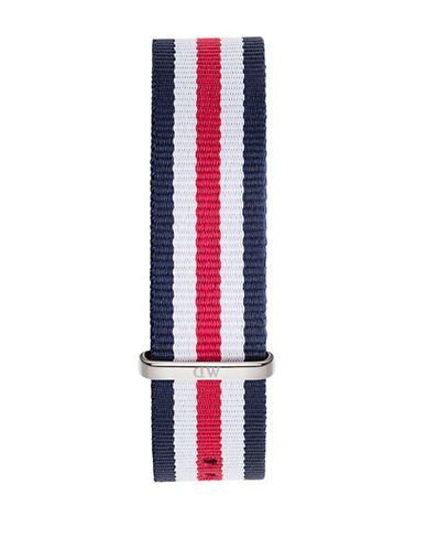 Daniel Wellington Canterbury NATO Fabric Watch Strap-RED-One Size