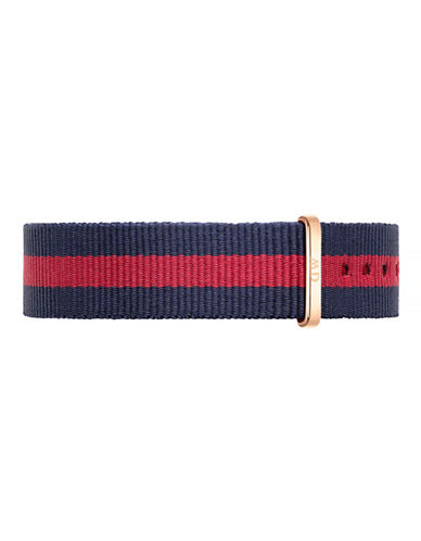 Daniel Wellington Oxford NATO Watch Strap-RED-One Size