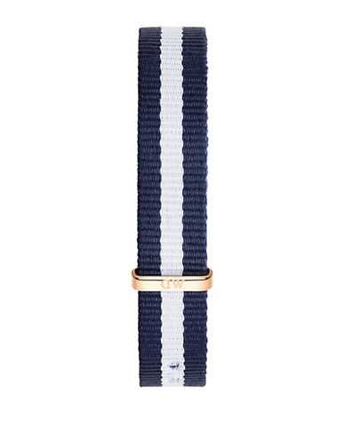 Daniel Wellington Gold Winchester NATO Watch Strap-BLUE-One Size