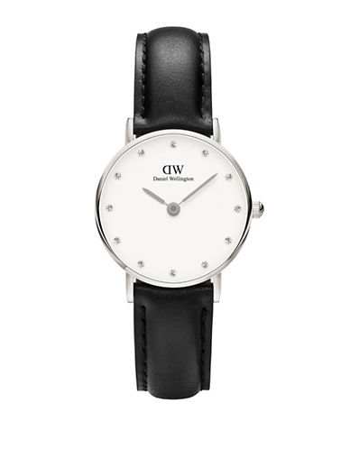 Daniel Wellington Classy Sheffield 26mm Silvertone Watch-SILVER-One Size