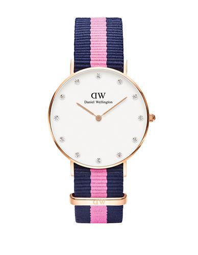 Daniel Wellington Classy Winchester NATO Watch-PINK-One Size