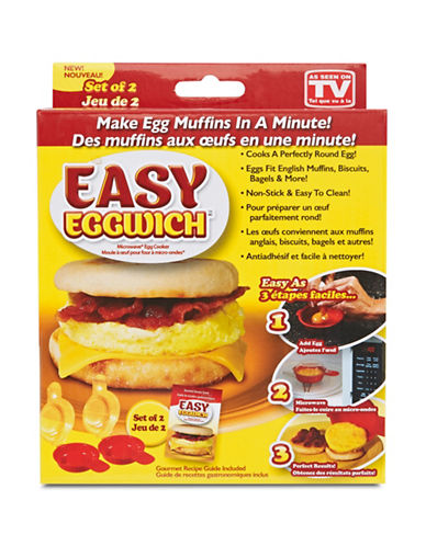 As Seen On Tv Easy Eggwich Microwave Egg Cooker-NO COLOUR-One Size