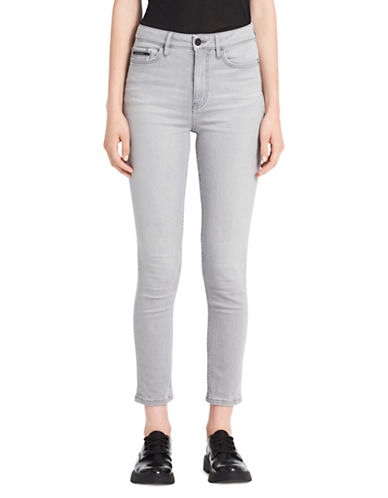 Calvin Klein Jeans Ultimate Skinny-Dyed Ankle Jeans-GREY-26