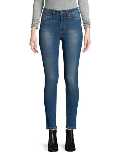 Calvin Klein Jeans Whiskered Jeans-BLUE-27