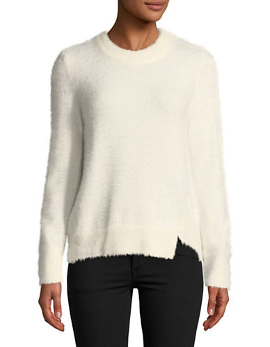 Calvin Klein Jeans Brushed Sweater-EGGSHELL-Medium