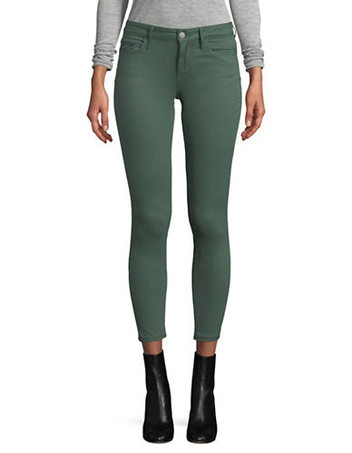 Calvin Klein Jeans Twill Ankle Skinny Jeans-GREEN-27