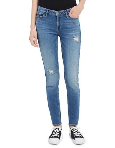 Calvin Klein Jeans Jean moulant déchiré 89995513