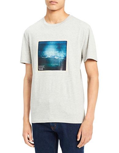 Calvin Klein Jeans Beach Side Crew Neck Cotton T-Shirt 89986969