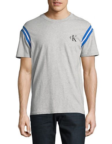 Calvin Klein Jeans Boxy-Fit T-Shirt-GREY-X-Small 89986857_GREY_X-Small