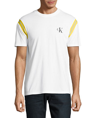 Calvin Klein Jeans Boxy-Fit T-Shirt-WHITE-Medium 89986854_WHITE_Medium
