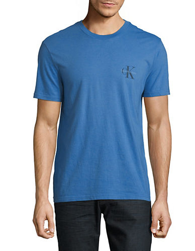 Calvin Klein Jeans Pop Colour Logo T-Shirt-BLUE-Small 89986918_BLUE_Small