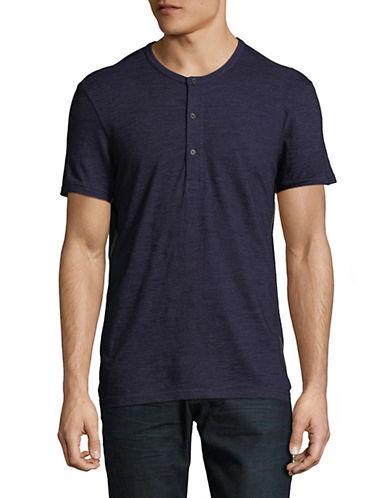 Calvin Klein Jeans Haut Henley en coton à manches courtes 89986906