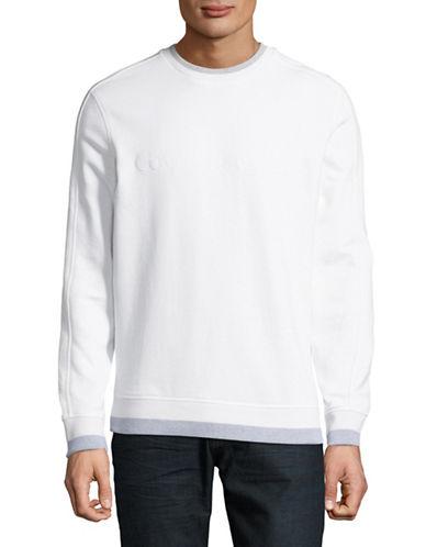 Calvin Klein Jeans Molleton à encolure ras du cou avec logo 89912841
