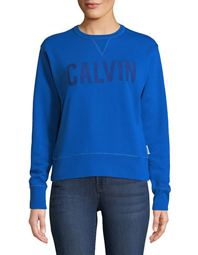 Calvin Klein Jeans Embroidered Logo Sweatshirt 89995534