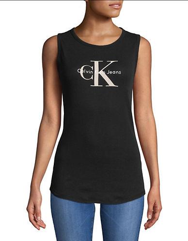 Calvin Klein Jeans California Reissue Logo Tank-BLACK-Medium 89995580_BLACK_Medium