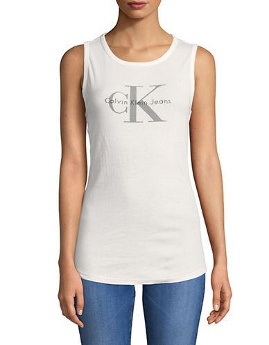 Calvin Klein Jeans California Reissue Logo Tank-WHITE-Small 89995583_WHITE_Small