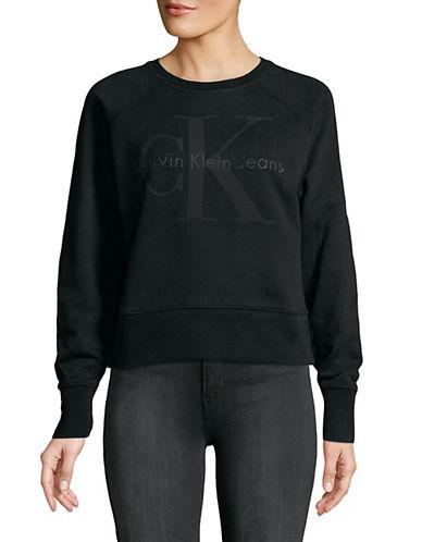 Calvin Klein Jeans Bonded Logo Sweatshirt 89995597