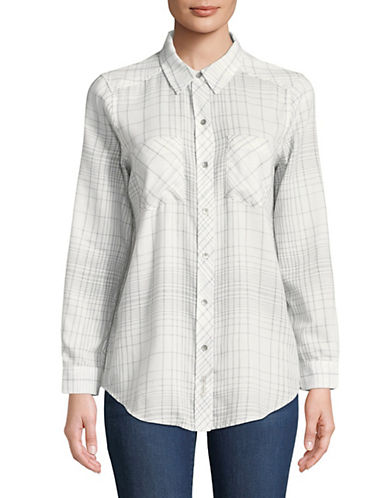 Calvin Klein Jeans Frosted Flannel Button-Down Shirt 89995612