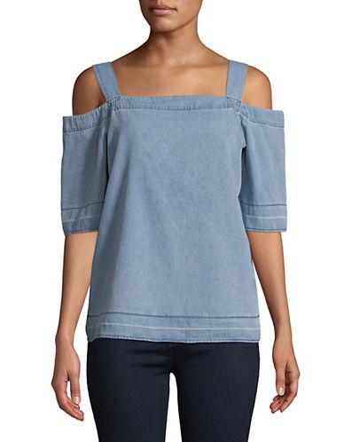 Calvin Klein Jeans Let Down Cold-Shoulder Top 89995628
