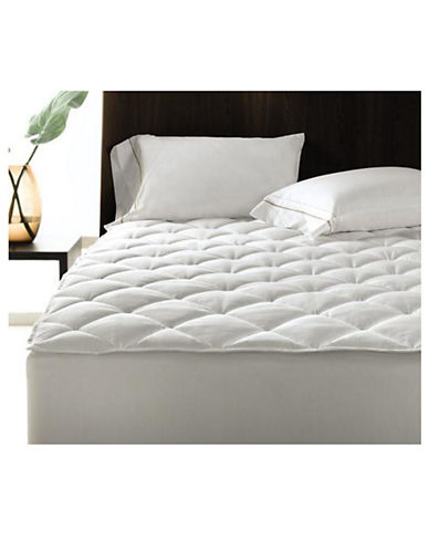 Hotel Collection Mattress Pad-WHITE-Queen