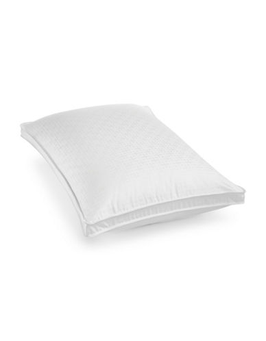 Hotel Collection European Goose Down Medium Support Pillow-WHITE-Queen