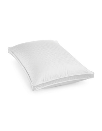 Hotel Collection European Goose Down Firm Support Pillow-WHITE-King