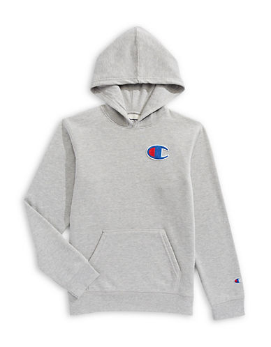 Champion Heritage Fleece Hoodie-GREY-Medium 89685964_GREY_Medium