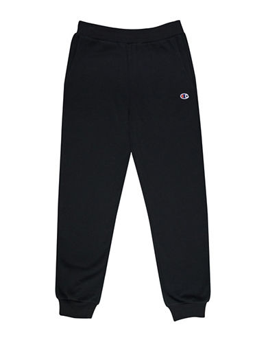 Champion Heritage Fleece Jogger Pants-BLACK-Large