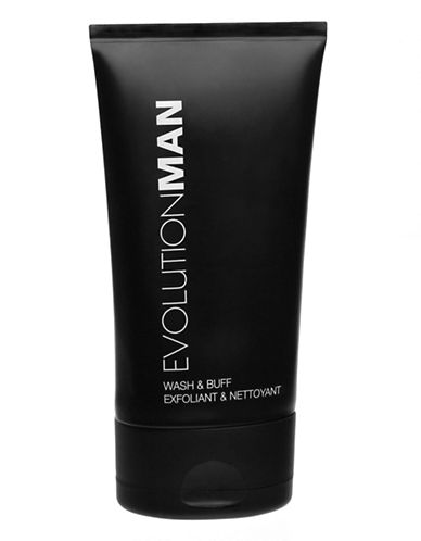 Evolution Man Wash and Buff Exfoliant-NO COLOUR-0