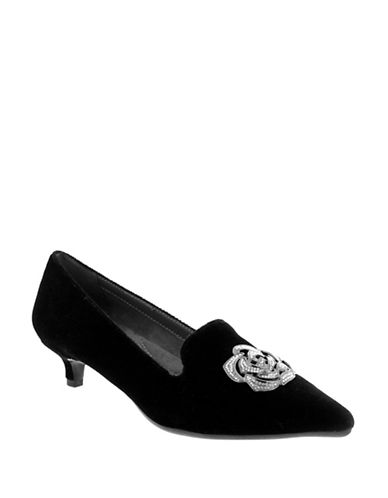 Aerosoles Best Dressed Velvet Pumps-BLACK-8.5