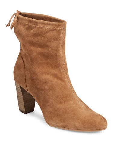Aerosoles Fortress Suede Ankle Boots-TAN-8.5