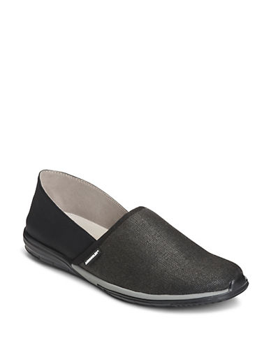 Aerosoles Slip-On Sneakers-BLACK-5.5