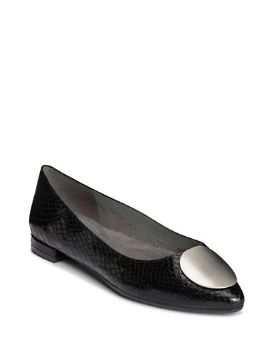 Aerosoles Poster Girl Slip-On Flats-BLACK-5