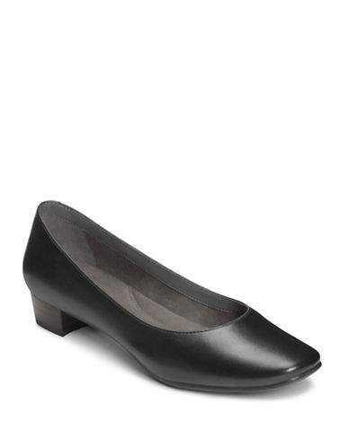 Aerosoles Chic Leather Pumps-BLACK-7