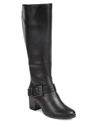 Aerosoles Chatroom Knee-High Boots-BLACK-9