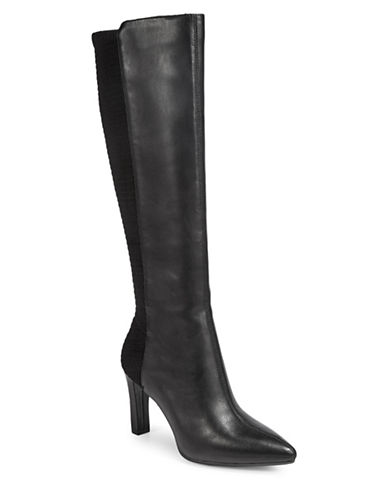Aerosoles Tall Dress Boots-BLACK-7