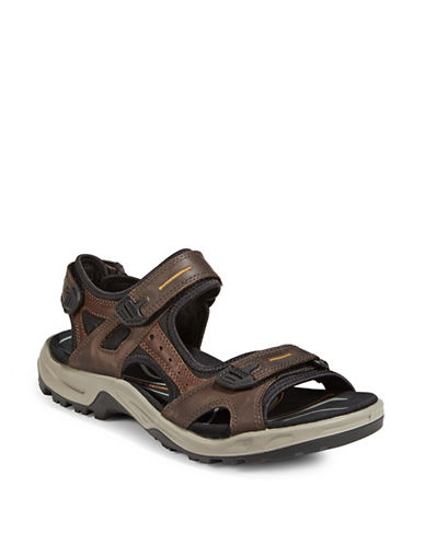 Ecco Off Road Yucatan Sandals-BROWN-EU 40/US 7