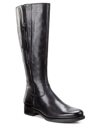 Ecco Adel Tall Zip Boots-BLACK-EUR 39/US 9