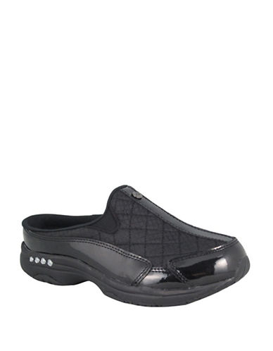 Easy Spirit Traveltime12 Casual Clog-BLACK/SILVER-5