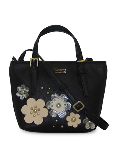 Nine West Mini Ava Tote-BLACK-One Size 88802044_BLACK_One Size
