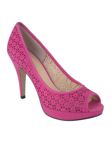 Enzo angiolini Demario9 Pink High Detailed Fashion Pump bright pink 85