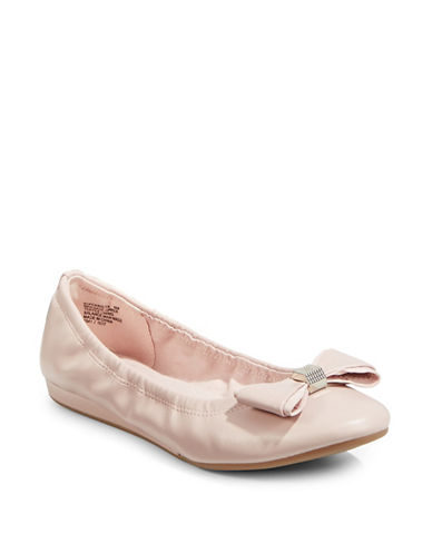 Bandolino Ferrista Natural Ballet Flats-LIGHT PINK-9.5