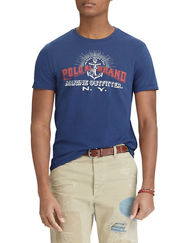 Polo Ralph Lauren Big and Tall Classic-Fit Cotton T-Shirt-NAVY-Large Tall 89957669_NAVY_Large Tall