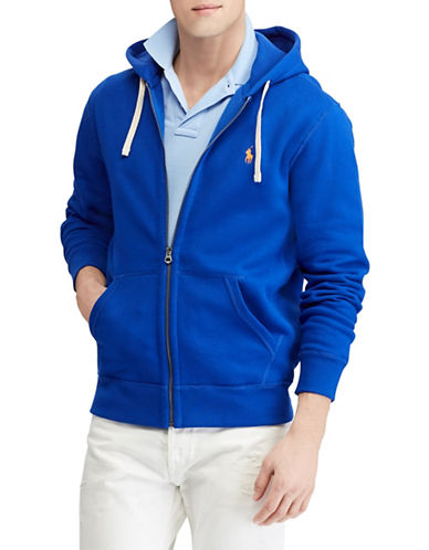 Polo Ralph Lauren Cotton-Blend-Fleece Hoodie-BLUE-X-Large 89816441_BLUE_X-Large