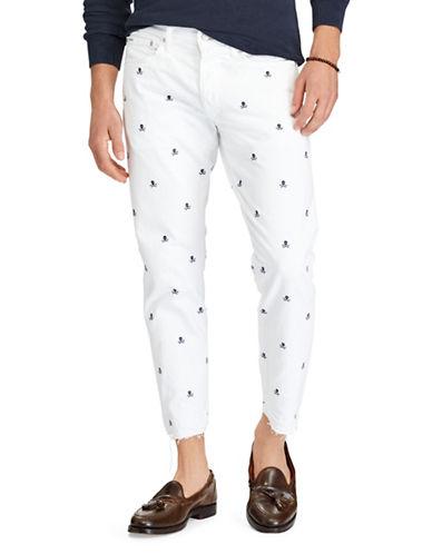 Polo Ralph Lauren Sullivan Slim Cropped Jeans-WHITE-40