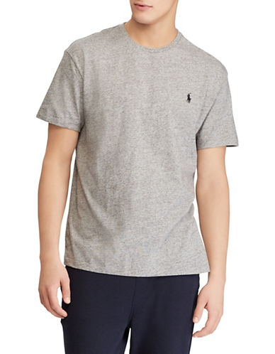 Polo Ralph Lauren Custom Slim-Fit Cotton T-Shirt-GREY-X-Large 89820923_GREY_X-Large