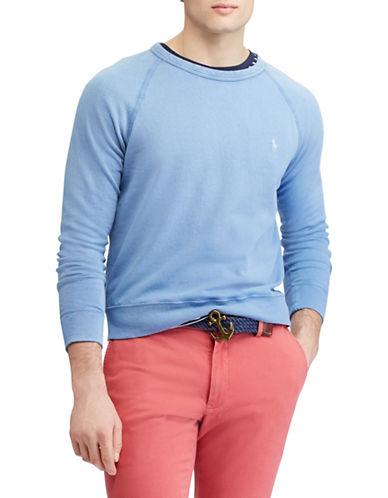 Polo Ralph Lauren Cotton Spa Terry Sweatshirt-BLUE-Medium 89880750_BLUE_Medium