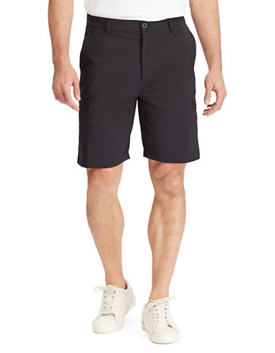 Chaps Big and Tall Performance Cargo Shorts-BLACK-48 Big